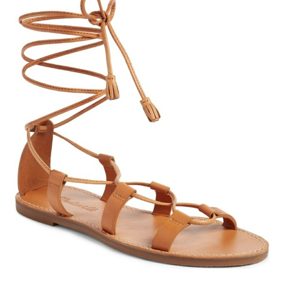 e825b86fcad Madewell Shoes - Madewell boardwalk lace up sandal size 8 1 2